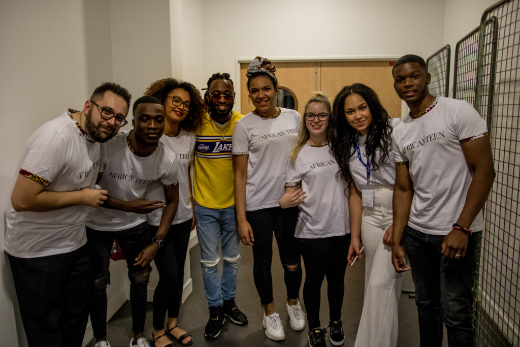 African Teen team